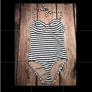 Jcrew Heritage striped swimsuit 6
